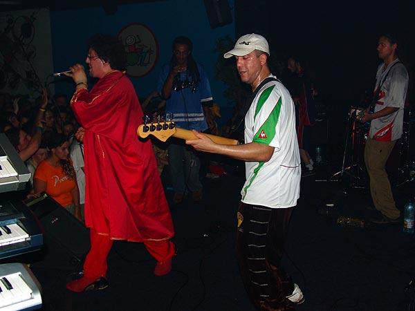 Dub Incorporation, Ned - Montreux Music Club, vendredi 13 mai 2005.
