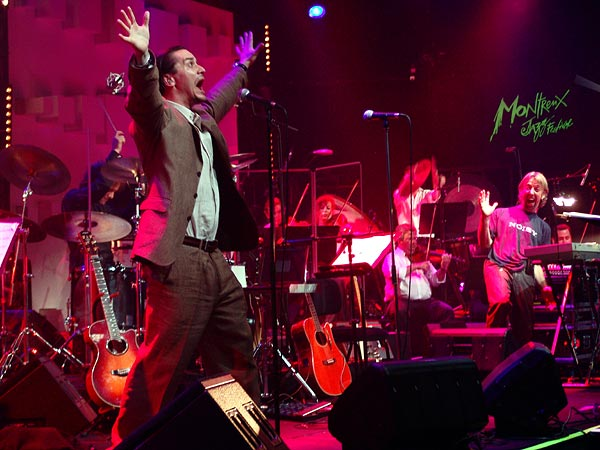 Montreux Jazz Festival 2005: The Young Gods & Lausanne Sinfonietta with special guest Mike Patton, July 14, 2005, Miles Davis Hall