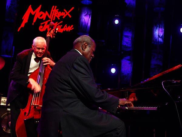 Montreux Jazz Festival 2005: Oscar Peterson Quartet, July 16, 2005, Auditorium Stravinski