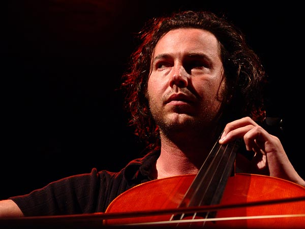 Montreux Jazz Festival 2005: Oli Kraus (Tom McRae cello), July 1, 2005, Casino Barrière