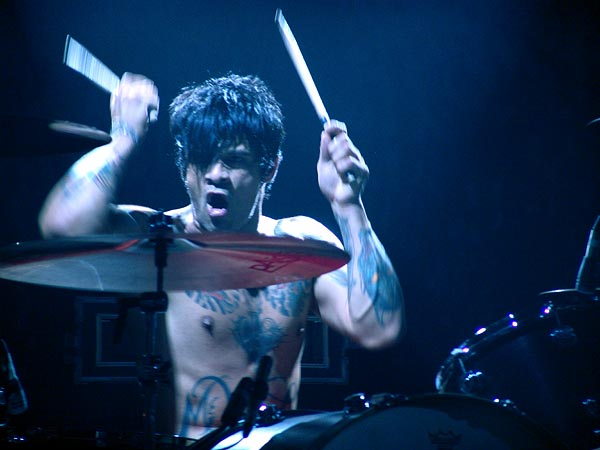 Montreux Jazz Festival 2005: Joey Castillo (Queens of the Stone Age), July 2, Miles Davis Hall