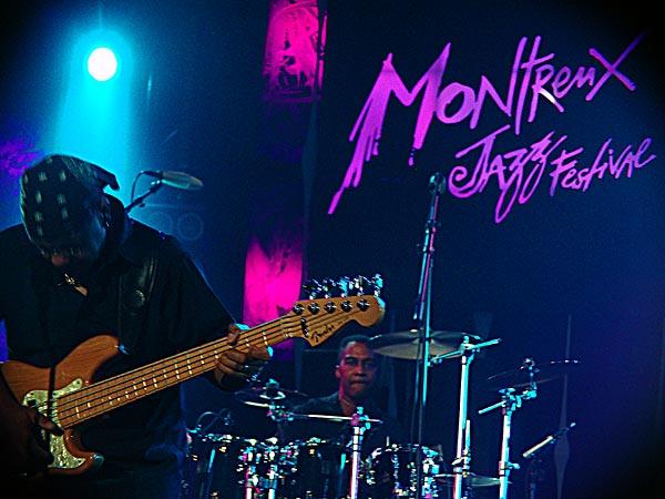 Montreux Jazz Festival 2005: Kurt Mitchell (Isaac Hayes Band), July 2, Auditorium Stravinski