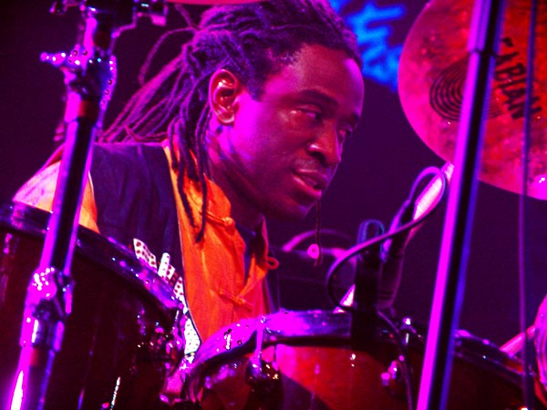 Montreux Jazz Festival 2005: Will Calhoun (Headfake), July 3, Auditorium Stravinski