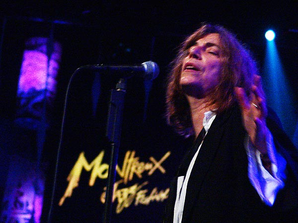 Montreux Jazz Festival 2005: Patti Smith, July 3, Auditorium Stravinski