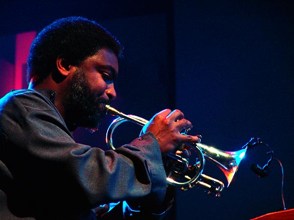 Montreux Jazz Festival 2005: Graham Haynes (Will Calhoun's Aza), July 3, Miles Davis Hall