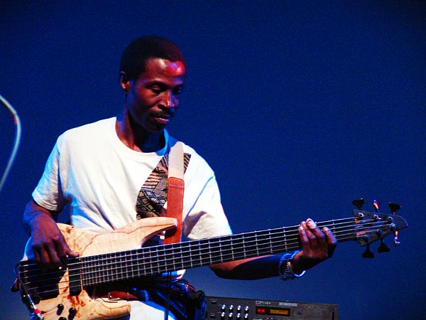 Montreux Jazz Festival 2005: Real Wesley Grant (Will Calhoun's Aza), July 3, Miles Davis Hall
