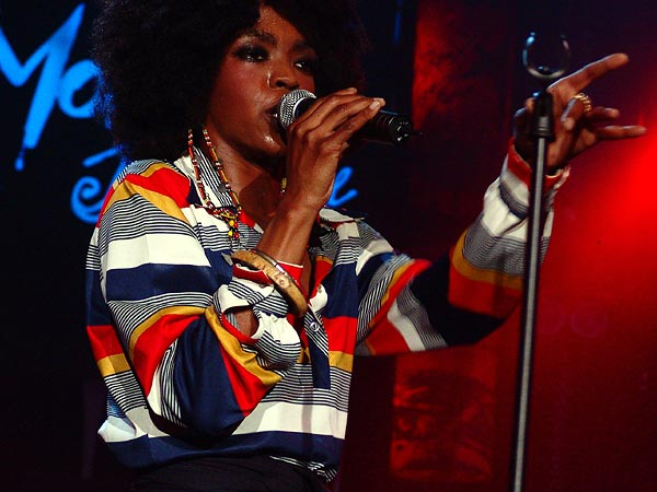 Montreux Jazz Festival 2005: Lauryn Hill Band, July 6, 2005, Auditorium Stravinski