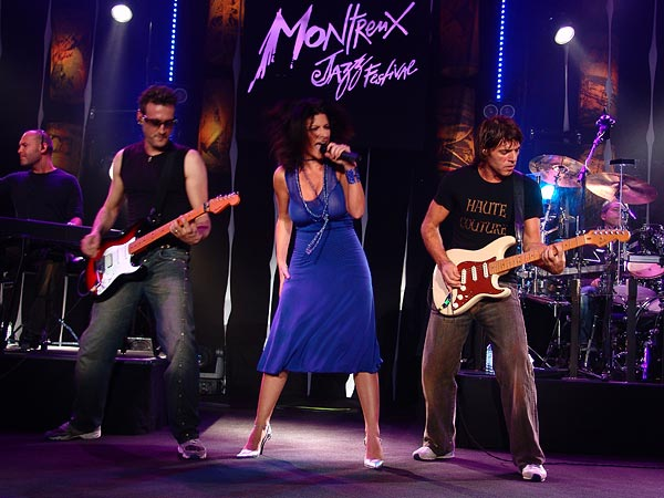 Montreux Jazz Festival 2005: Laura Pausini, July 11, 2005, Auditorium Stravinski