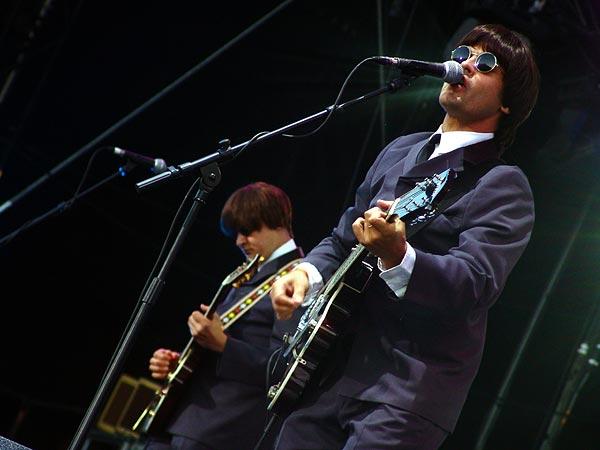Paléo Festival 2005: The Rabeats, mardi 19 juillet 2005, Grande Scène.