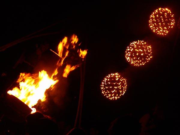 Ambiances du Paléo Festival 2005, mercredi 20 juillet 2005.