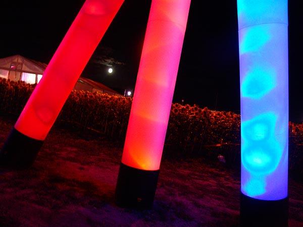 Ambiances du Paléo Festival 2005, jeudi 21 juillet 2005.