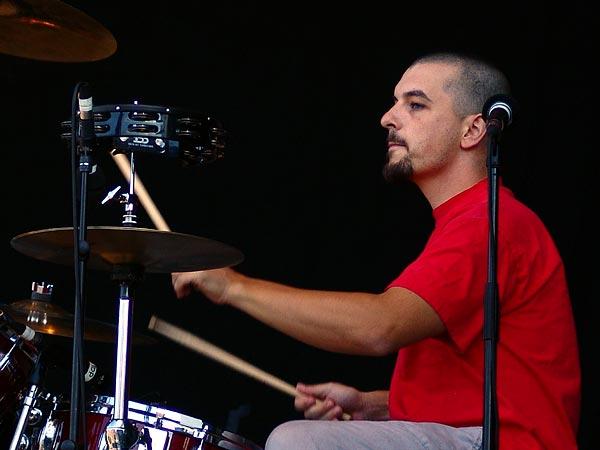 Paléo Festival 2005, vendredi 22 juillet 2005: Mickey 3D, Grande Scène.