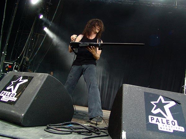 Paléo Festival 2005, vendredi 22 juillet 2005: Samaël, Grande Scène.