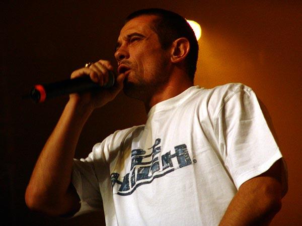 Paléo Festival 2005, vendredi 22 juillet 2005: Kool Shen, Chapiteau.