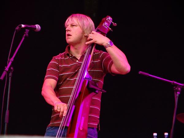Paléo Festival 2005: Jamie Cullum, dimanche 24 juillet, Grande Scène.
