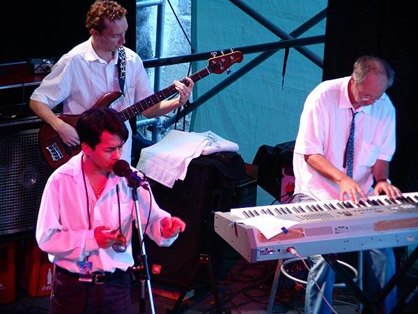 Bonny B, world blues au World Music Festival d'Oron, 30 juillet 2005.