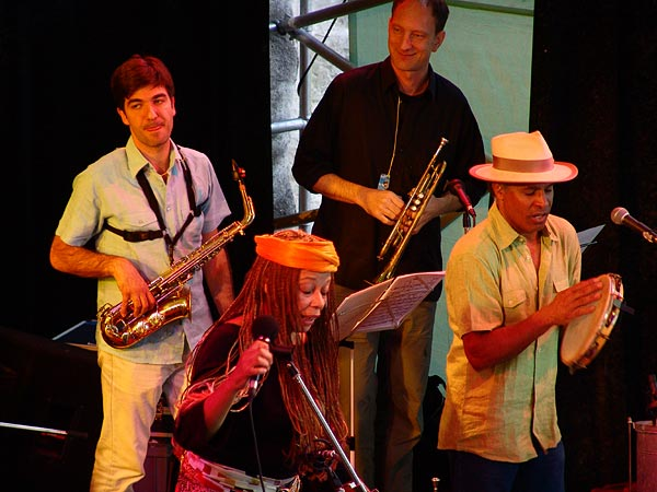 Samambaia, un voyage musical au Brésil, World Music Festival d'Oron, dimanche 31 juillet 2005.