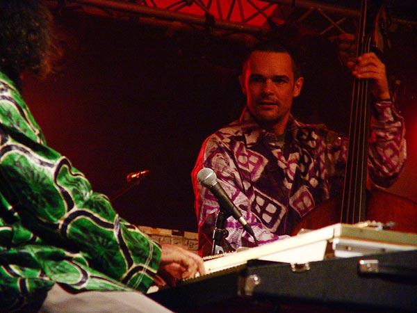 Malcolm Braff Combo, un pianiste de grand chemin au World Music Festival d'Oron, dimanche 31 juillet 2005.