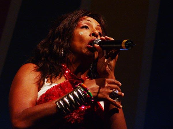 Zap Mama, urban ethnic soul au World Music Festival d'Oron, dimanche 31 juillet 2005.