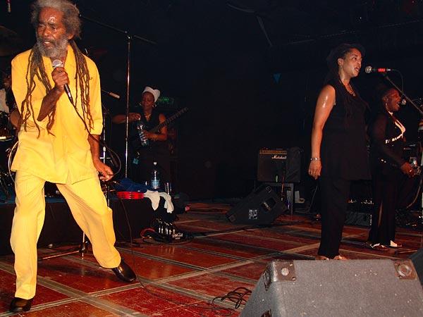 Max Romeo & the Charmax Band, Ned- Montreux Music Club, vendredi 23 septembre 2005.