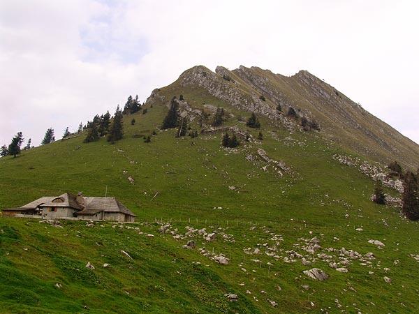 Au col de Jaman, au-dessus des Avants, septembre 2005.