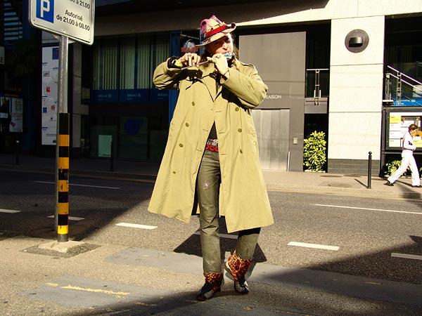 Parabellum dans les rues de Montreux, samedi 22 octobre 2005.