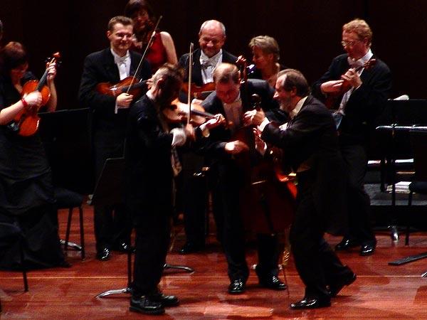 Nigel Kennedy & Orchestre de Chambre de Pologne, Auditorium Stravinski Montreux, jeudi 3 novembre 2005.