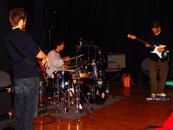 Yves Regamey Trio (3e prix), Nuits de la Guitare, EJMA Lausanne, vendredi 4 novembre 2005.