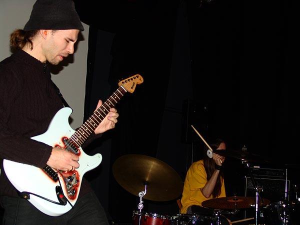 Pascal Vigné Trio, Nuits de la Guitare, EJMA Lausanne, vendredi 4 novembre 2005.