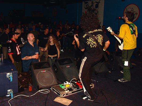 Sayowa, Ned - Montreux Music Club, vendredi 18 novembre 2005.