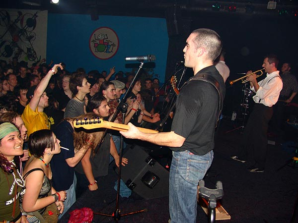 Los Tres Puntos, Ned - Montreux Music Club, vendredi 13 janvier 2006.