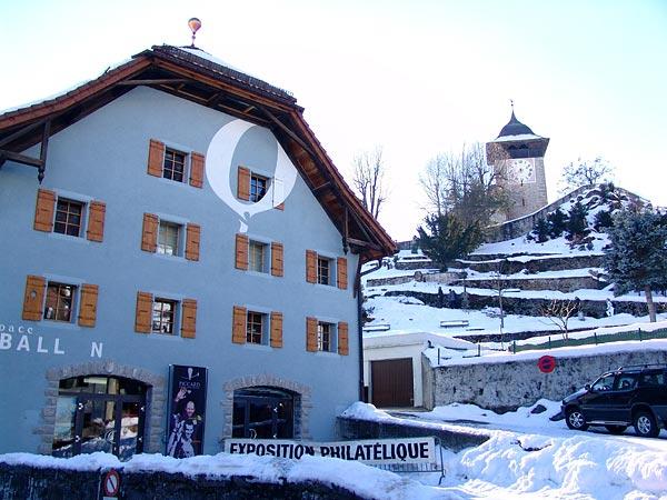 Château-d'Oex (Pays-d'Enhaut), dimanche 22 janvier 2006.