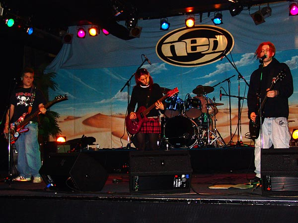 Billie Bolley & the Degenerates, Ned - Montreux Music Club, Punk & Ska Night, samedi 11 février 2006.