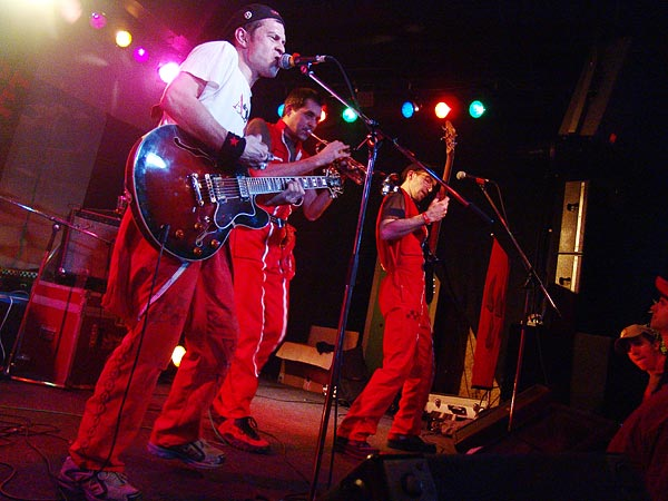 Alerte Rouge, Ned - Montreux Music Club, Ska-Punk Night, samedi 4 mars 2006.