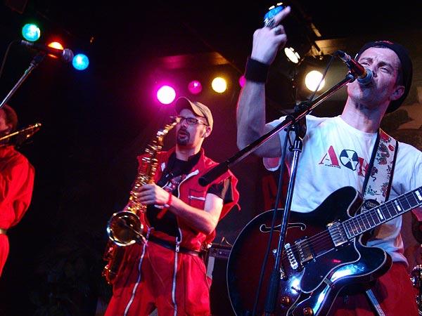 Alerte Rouge, Ned - Montreux Music Club, Ska-Punk Night, samedi 4 mars 2006.