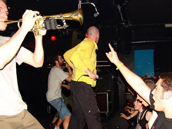Les Caméléons, Ned - Montreux Music Club, Ska-Rock Night, samedi 22 avril 2006.