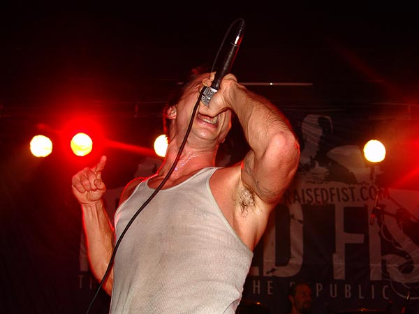 Raised Fist, Ned - Montreux Music Club, Hardcore Night, dimanche 14 mai 2006.