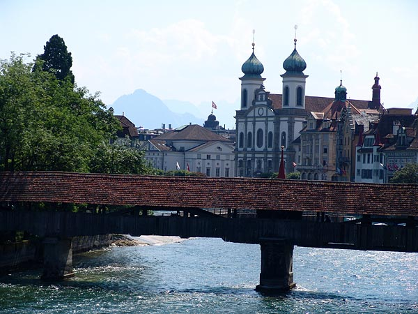 Old Bridges, Lucerne, July 2006.