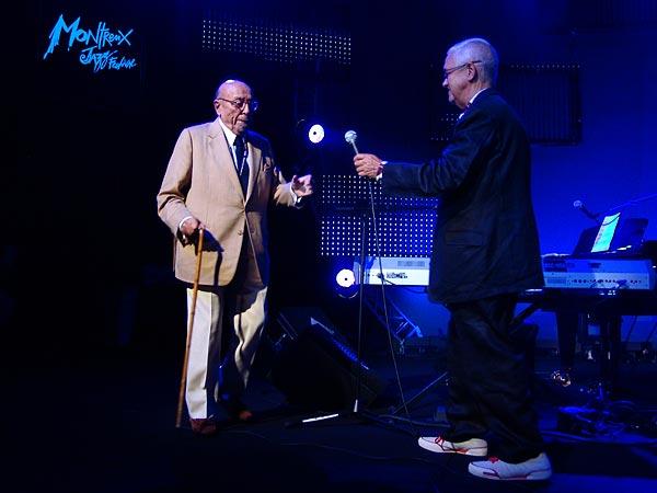 Montreux Jazz Festival 2006: Introductory speech by Claude Nobs & Ahmet Ertegun, Ahmet Ertegun Tribute, June 30, 2006, Auditorium Stravinski