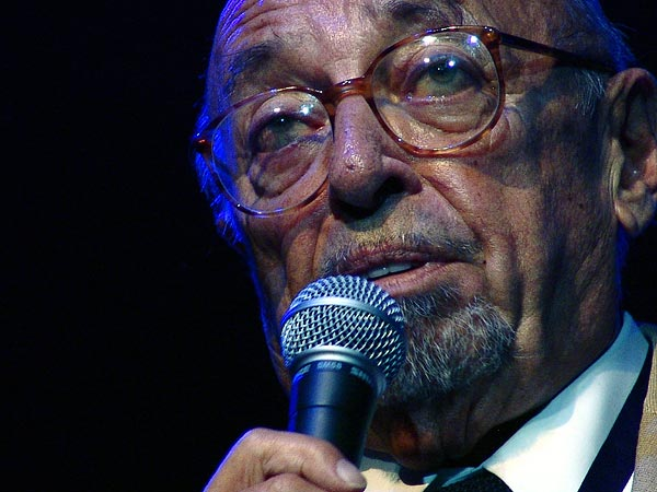 Montreux Jazz Festival 2006: Introductory speech by Claude Nobs & Ahmet Ertegun, Ahmet Ertegun Tribute, June 30, 2006, Auditorium Stravinski