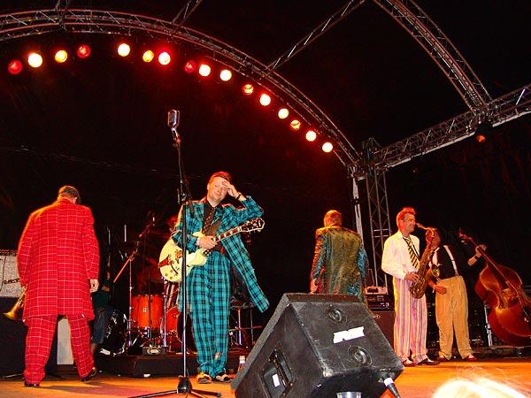 Montreux Jazz Festival 2006: Jordan's Drive, July 2, Under the Sky Festival, Parc Vernex