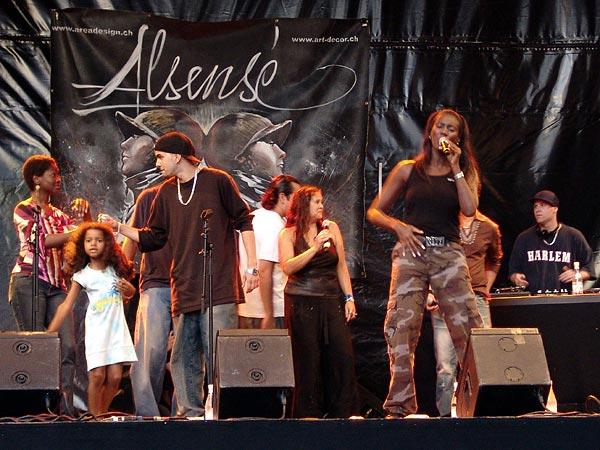 Montreux Jazz Festival 2006: Alsensé, July 6, Under the Sky Festival, Parc Vernex