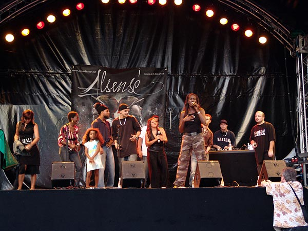 Montreux Jazz Festival 2006: Alsensé, July 6, Under the Sky Festival, Parc Vernex