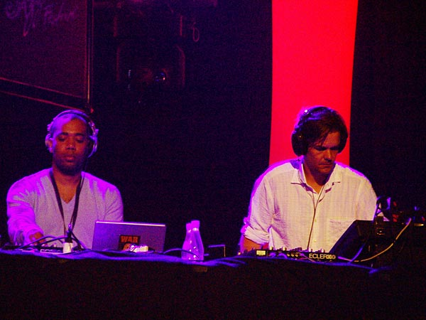 Montreux Jazz Festival 2006: Narodniki - The Laptop Supergroup feat. Richie Hawtin, Ricardo Villalobos, Carl Craig, Mark Ernestus, Moritz von Oswald, Luciano, Zip & Dandy Jack, July 6, Miles Davis Hall
