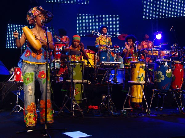 Montreux Jazz Festival 2006: Carlinhos Brown, July 8, Auditorium Stravinski