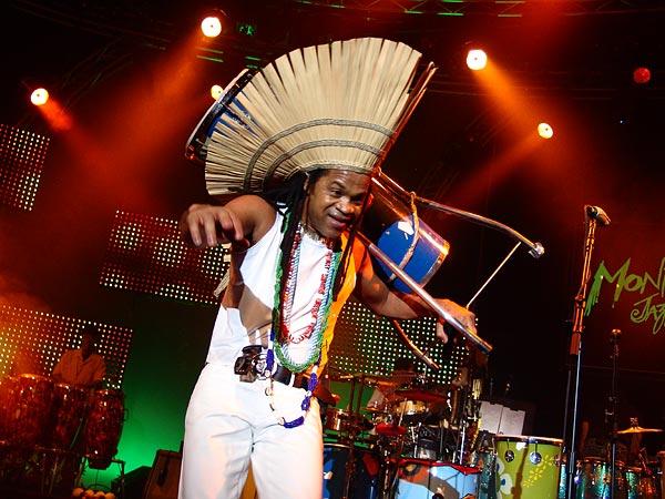 Montreux Jazz Festival 2006: Santana's Dance to the Beat of My Drum, Auditorium Stravinski, July 9, a special project with Idrissa Diop (Musical Director), Carlinhos Brown, Los Ibellis Jr, Mory Kanté, Angélique Kidjo, Kora Jazz Trio, Touré Kunda, Ismaël Lô, Brazil Percushow, Boubacar and Valle.