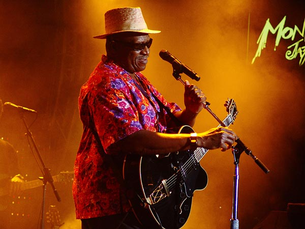 Montreux Jazz Festival 2006: Taj Mahal, Santana's My Blues Is Deep, Auditorium Stravinski, July 10