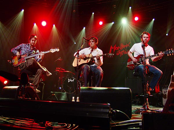 Montreux Jazz Festival 2006: Starsailor acoustic, Auditorium Stravinski, July 11