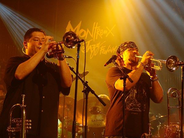 Montreux Jazz Festival 2006: Tower of Power, Santana Night, Auditorium Stravinski, July 12