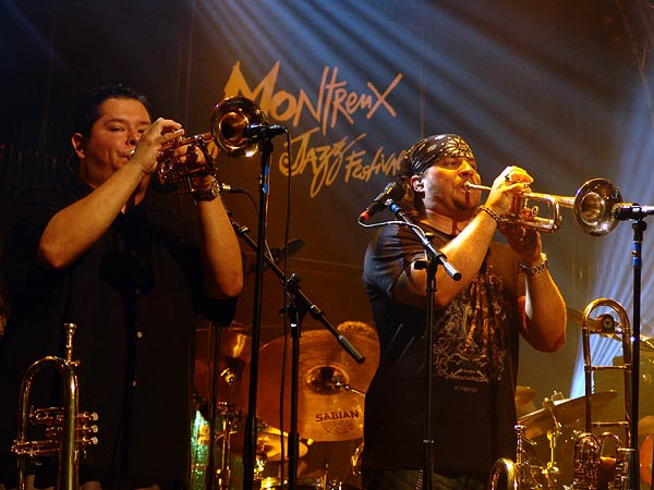 Montreux Jazz Festival 2006: Tower of Power, Santana Night, Auditorium Stravinski, July 12